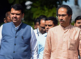 उद्धव ने कहा - युति की होगी अगली सरकार, भाजपा के लिए सातारा सीट छोड़ेगी शिवसेना