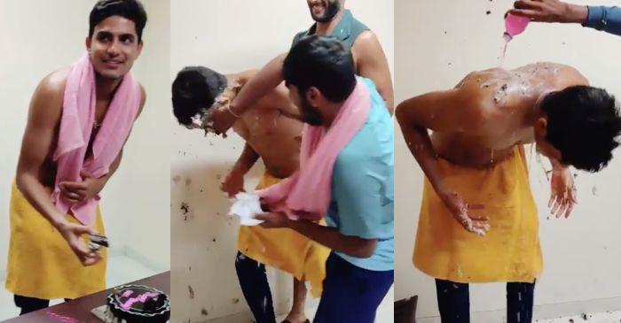 कुछ इस अंदाज में मनाया शुभमन गिल ने 20वां जन्मदिन, देखें वीडियो