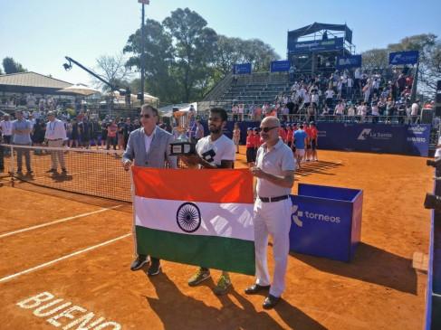 टेनिस : सुमित नागल ने जीता ब्यूनस आयर्स एटीपी चैलेंजर्स खिताब