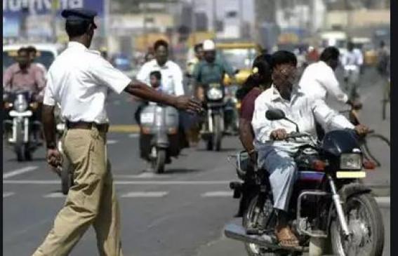 ट्रैफिक विभाग हुआ हाईटेक,   ई-चालान की जोन स्तर पर जुर्माना वसूली शुरू