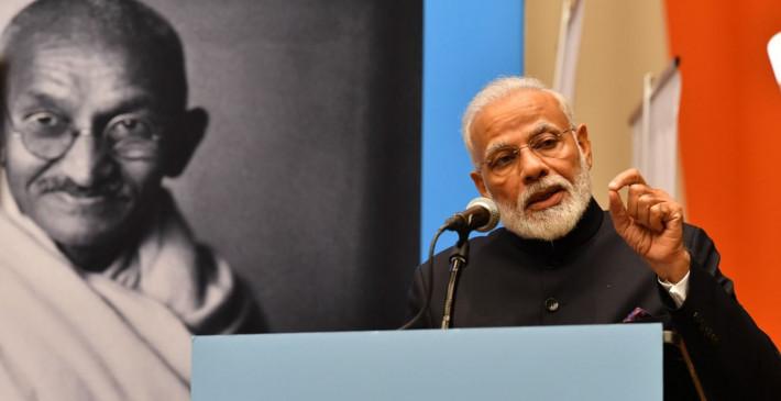 मोदी 'फादर ऑफ इंडिया': कांग्रेस को ऐतराज, जितेन्द्र सिंह बोले- जिसे परेशानी वह भारतीय नहीं