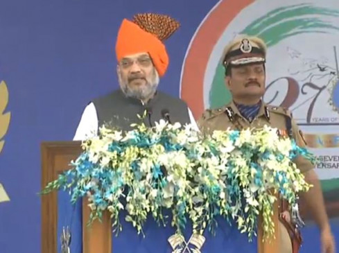अहमदाबाद में बोले शाह- 370 हटाकर पीएम ने कश्मीर में की नए युग की शुरुआत