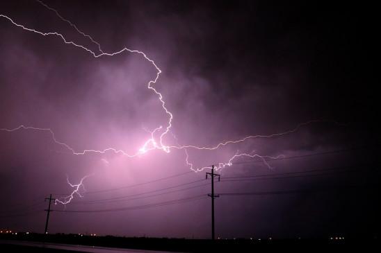 उत्तर प्रदेश: बांदा में आकाशीय बिजली गिरने से दो लोगों की मौत, 8 घायल