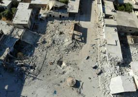 सीरिया: इदलिब में जिहादियों पर मिसाइल हमला, 50 विद्रोही मारे गए