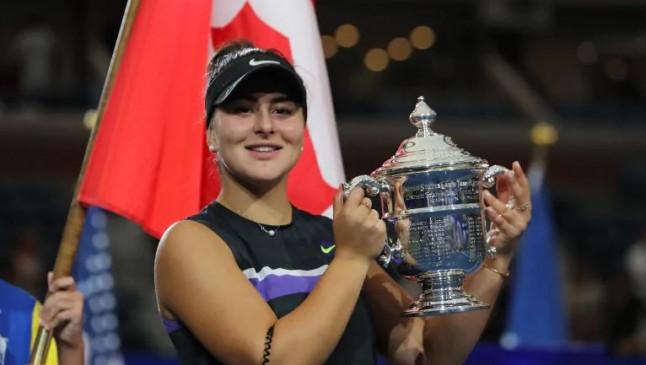 US Open: 19 साल की एंड्रेस्कू ने सेरना को मात देकर जीता पहला ग्रैंड स्लैम खिताब