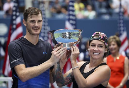 अमेरिका ओपन : मरे-बेथनी ने जीता मिश्रित युगल का खिताब