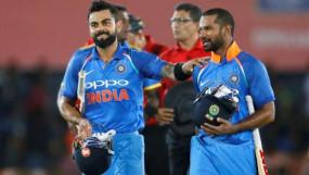 ICC टी-20 रैंकिंग में कोहली-धवन टॉप-10 के करीब पहुंचे