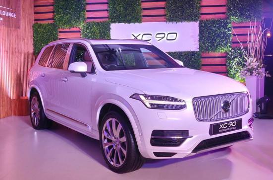 Volvo ने भारत में लॉन्च की 3 सीटर एसयूवी XC90, कीमत 1.42 करोड़