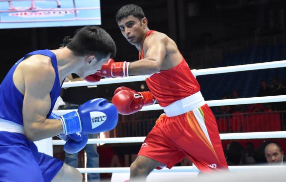 विश्व मुक्केबाजी चैम्पियनशिप : मनीष सेमीफाइनल में, पदक पक्का