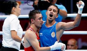 विश्व मुक्केबाजी चैम्पियनशिप : पंघल सहित 4 भारतीय क्वार्टर फाइनल में
