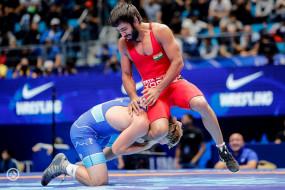 World Wrestling C'ship : बजरंग, रवि को सेमीफाइनल में मिली हार, पूजा कांस्य से चूकीं