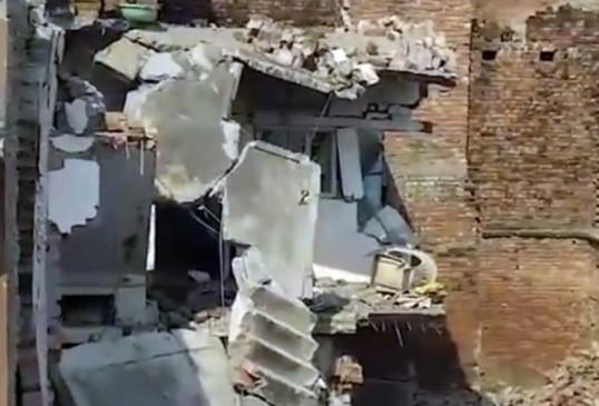 उप्र : मऊ में सिलिंडर फटने से 13 लोगों की मौत