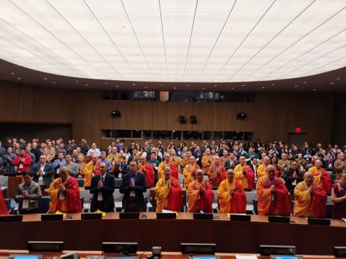 चीन-अमेरिका-कनाडा बौद्ध धर्म सम्मेलन में 500 ने लिया हिस्सा