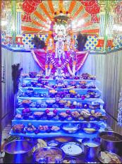 लक्ष्मीनारायण मंदिर इतवारी में अन्नकूट महोत्सव 4 को, तैयारी हुई शुरू