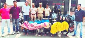 बस से डीजल चुरा कर बेचता था गिरोह, पुलिस ने 6 आरोपियों को किया गिरफ्तार