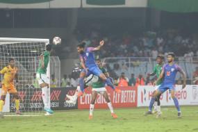 FIFA 2022 क्वालीफायर: आदिल के गोल की मदद से भारत ने बांग्लादेश के साथ खेला ड्रा