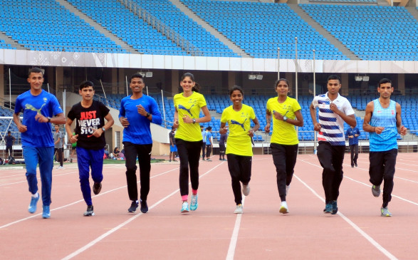 Half Marathon 2019: दिल्ली में हाफ मैराथन खत्म, बड़ी संख्या में धावकों ने लिया हिस्सा