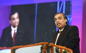 Jio की सभी सेवाएं हिंदी में भी होंगी : मुकेश अंबानी