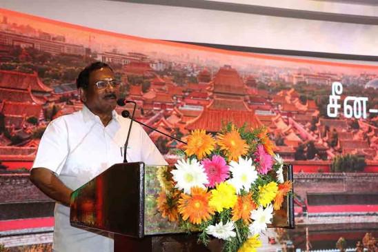तमिलनाडु और चीन के बीच अधिक सहयोग की प्रतीक्षा : तमिलनाडु के संस्कृति मंत्री