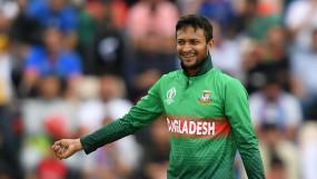 बांग्लादेश के ऑलराउंडर शाकिब पर लगा 2 साल का प्रतिबंध