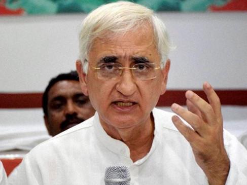 खुर्शीद के बयान 'राहुल छोड़ गए' पर BJP का तंज- न नेता, न नीति, न ही नीयत