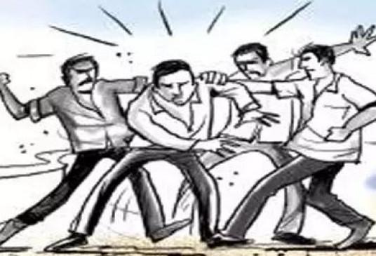 जमीन के विवाद को लेकर भाजपा नेता ने किया हमला - मामला दर्ज