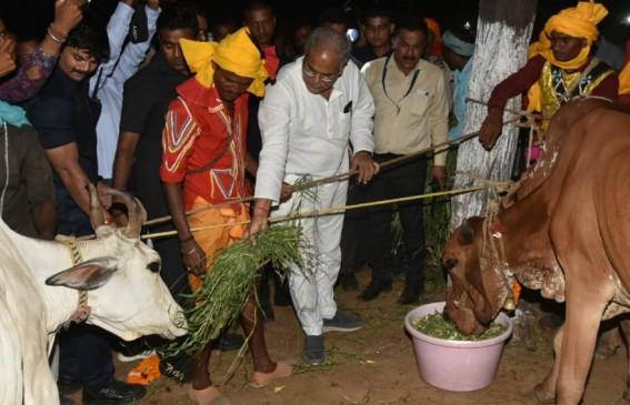छत्तीसगढ़ : गाय, गांधी और गांव की राह चली भूपेश सरकार