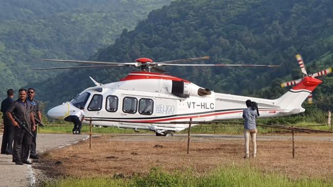 हादसे का शिकार होते बचा मुख्यमंत्री का हेलिकॉप्टर