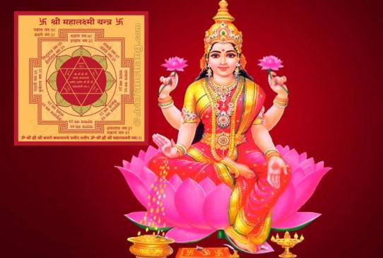 दीपावली 2019: इस दिन करें श्री महालक्ष्मी यंत्र स्थापित, होंगे ये लाभ