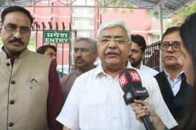 दिल्ली : रविदास मंदिर को लेकर विहिप के प्रतिनिधि पुरी से मिले