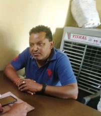 बीस हजार रूपये की रिश्वत लेते उपयंत्री रंगे हाँथ गिरफ्तार