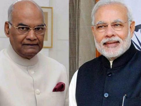 राष्ट्रपति, प्रधानमंत्री ने दिवाली पर देशवासियों को बधाई दी