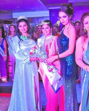 डॉ. पूजा ने जीता मिस इंडिया इंटरनेशनल खिताब