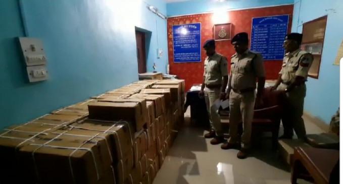 भोपाल से आई पन्द्रह लाख रूपये की नशीली दवा, पुलिस ने पकड़ा