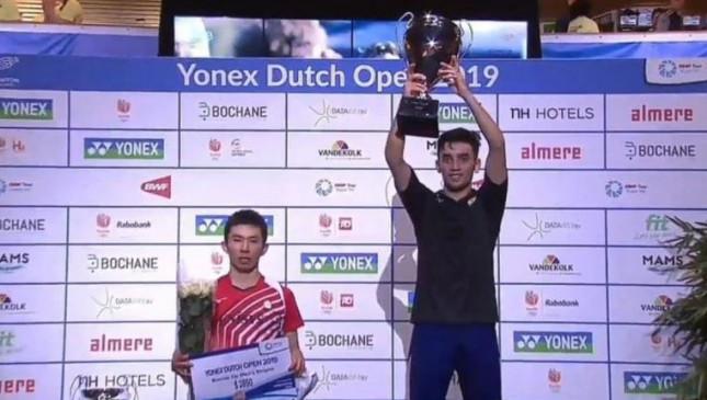 Dutch open 2019: लक्ष्य ने पहला BWF वर्ल्ड टूर खिताब जीता, फाइनल में युसुकी को हराया