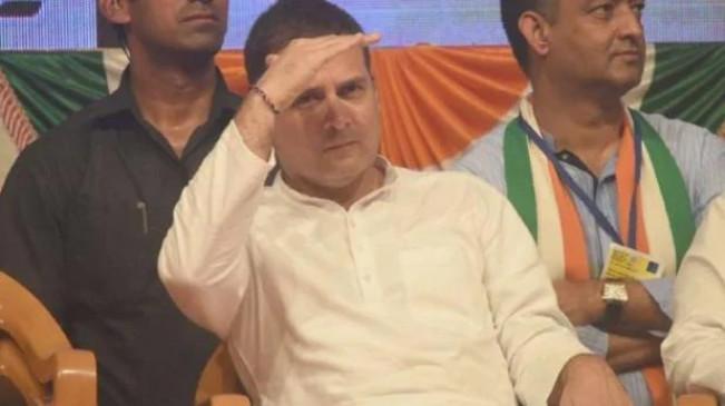 राहुल के भाषण के साथ हुई छेड़छाड़! सायबर पुलिस से शिकायत, सीएम ने ट्विट किया वीडियो