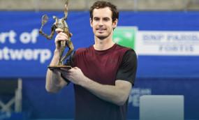 European Open 2019: एंडी मरे ने 2 साल बाद जीता एटीपी खिताब, फाइनल में वावरिंका को दी मात