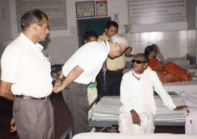 आंखों के ऑपरेशन के बाद पीडि़त को दिया एक्सपायरी इंजेक्शन -दिखना हुआ बंद ,छिंदवाड़ा का मामला