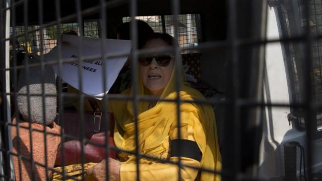 फारूक अब्दुल्ला की बहन और बेटी रिहा, प्रदर्शन के दौरान लिया गया था हिरासत में
