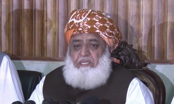 फजल ने मार्च के इस्लामाबाद पहुंचने की तारीख बदली, 27 अक्टूबर को मनाएंगे कश्मीर ब्लैक डे