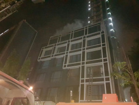 इंदौर के होटल में आग, 6 लोग सुरक्षित निकाले गए