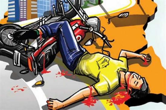 दो सड़क हादसों में तीन छात्रों समेत चार की मौत