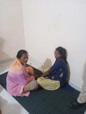 मंडला से आई गांजा की खेप - महिला तस्कर माल सहित गिरफ्तार