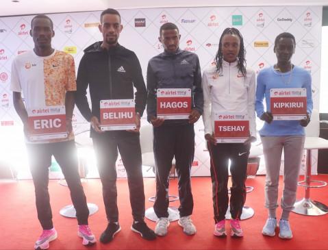 इथियोपिया की गेमेचु ने एअरटेल दिल्ली हाफ मैराथन में तोड़ा अपना ही कोर्स रिकार्ड