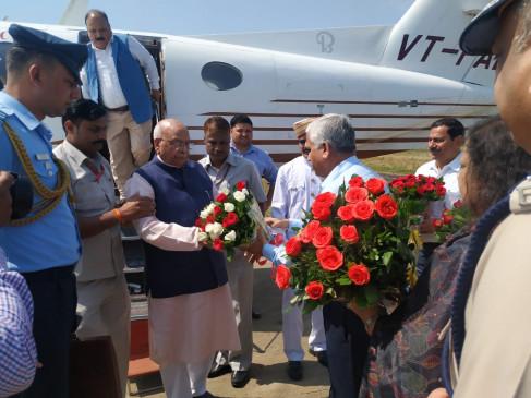 गर्वनर श्री लालजी टण्डन आज जबलपुर में - राष्ट्रीय संस्कृति महोत्सव में भाग लेंगे Governor