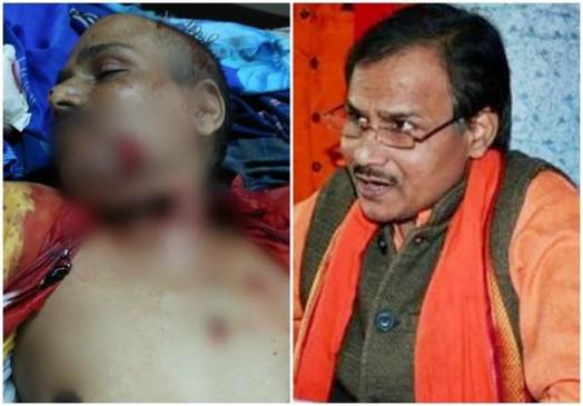 लखनऊ में हिंदू समाज पार्टी के नेता कमलेश की हत्या, सीसीटीवी फुटेज में दिखे आरोपी