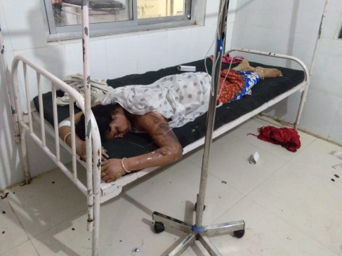 पति ने पीट-पीटकर पत्नी को उतारा मौत के घाट : जंगल में मिला शव