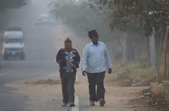 मप्र में धुंध का असर, होने लगा गुलाबी ठंड का अहसास