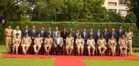 सीआईएसएफ और नेपाल सशस्त्र पुलिस के बीच हुई महत्वपूर्ण बैठक