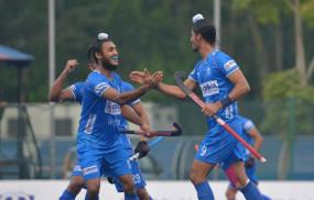 भारतीय जूनियर हॉकी टीम ने जोहोर कप में न्यूजीलैंड को 8-2 से हराया